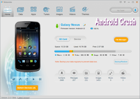 how to update android apps using computer PC