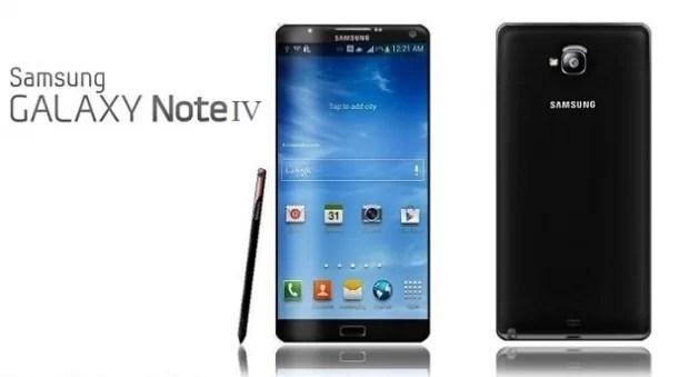 Yeni yılda Samsung Note 4'de Yenileniyor