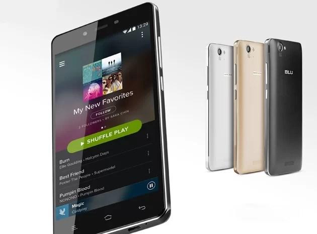 Blu Products; Tek şarjla 4 günlük kullanım sunan telefon