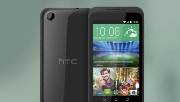 HTC, yeni giriş seviyesi akıllı telefonu Desire 320'yi duyurdu.