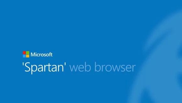 Windows 10 ile Spartan tarayıcı