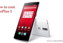 how to root OnePlus 1