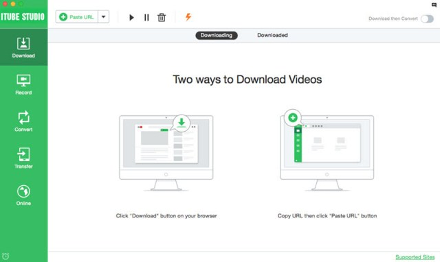 Launch YouTube Downloader