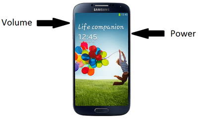 how to screenshot on galaxy s4