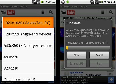 tube mate Youtube Downloader for Android Mobile Free
