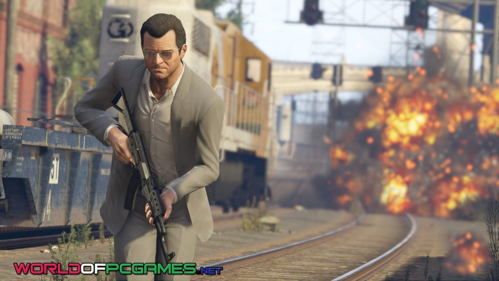 Free download GTA 5 APK+Data for Android