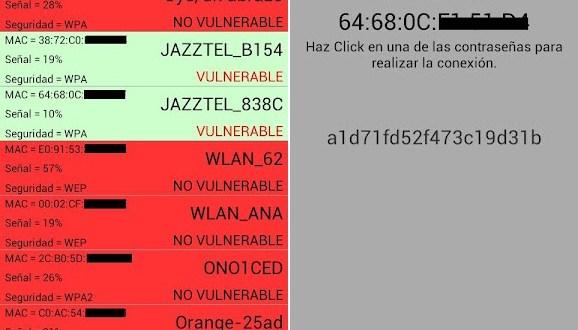 ReveLA Wifi la aplicación para conseguir claves