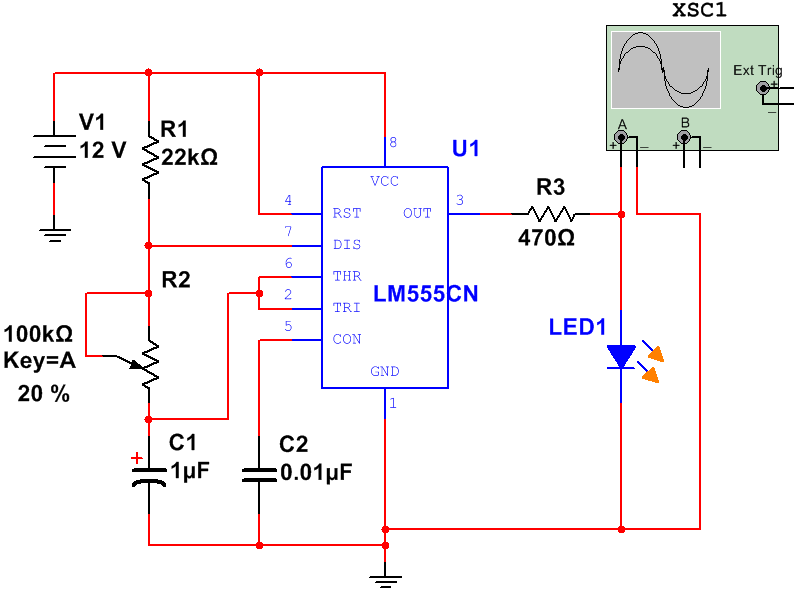 Pcb Layout Design For Astable Multivibrator