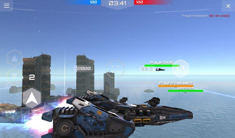 Planet commander combates de naves espaciales androides apk for Commander plantes