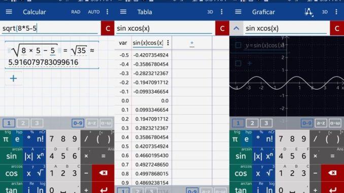 Calculadora Gráfica de matlab