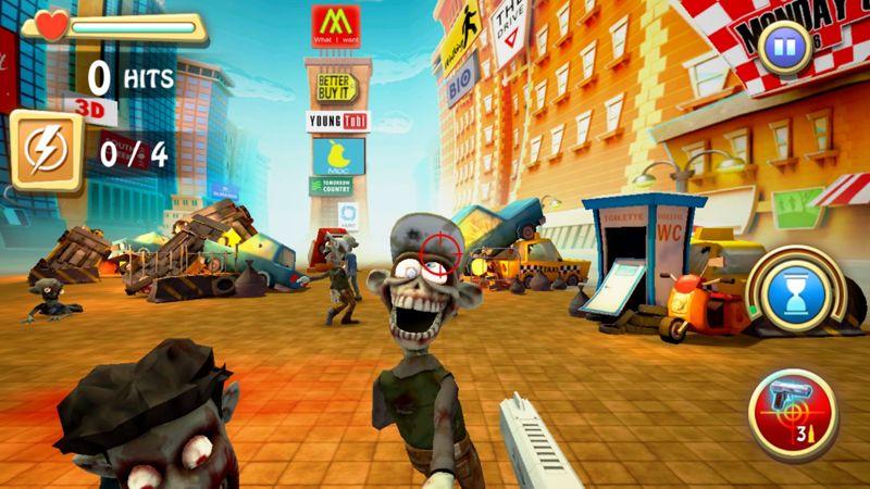 Zombie Annihilator en combates