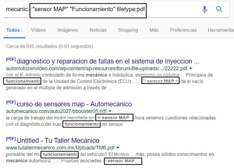 Mejora tus búsqueda en google