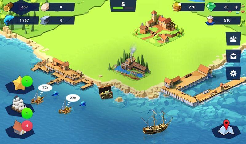 El mejor de juego de construcción de puertos.