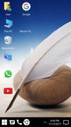 Launcher con apariencia a Windows 10
