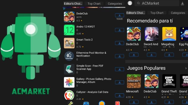 Qué es Acmarket?: Una Alternativa a la PlayStore   Androides APK