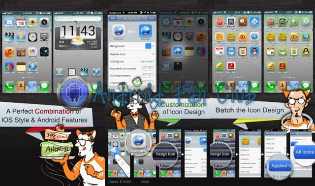 Espier Launcher (iOS transformation for Android)