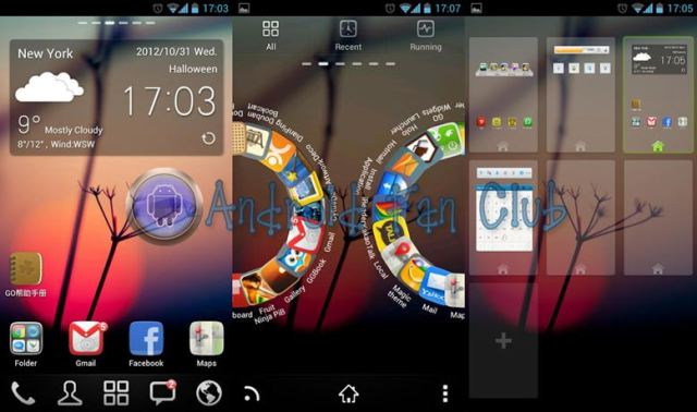 Go Launcher Ex for Android smartphones & tablets