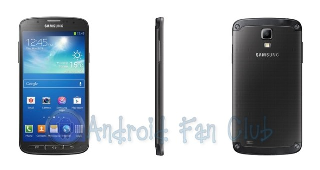 Samsung Galaxy S 4 Active - Black - Water and Dust Proof Android smartphone