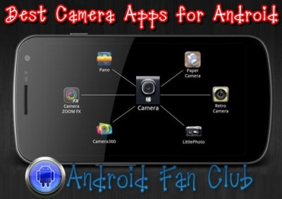 Best & Top Rated Camera Apps for Android smartphones & tablets