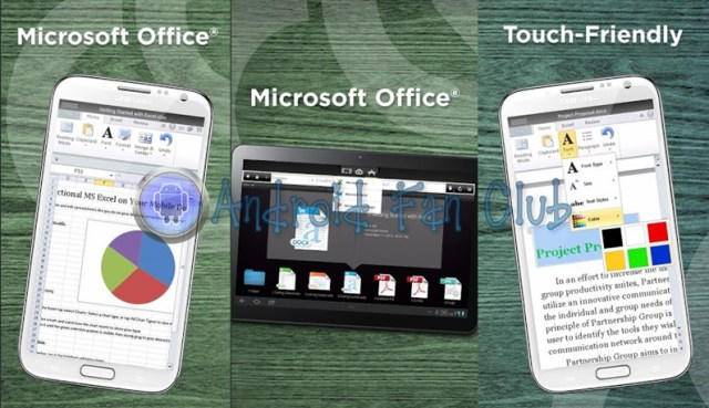 CloudOn Microsoft Office for Android smartphones & tablets