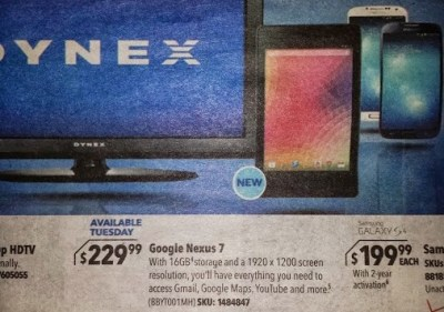 New Generation Google Nexus 7 Android Tablet