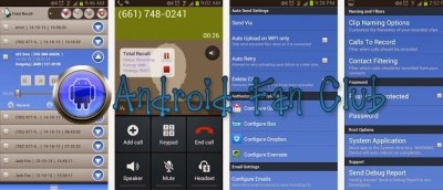 Total Recall Call Recorder by Killer Mobile Android Free APK