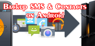 Backup Android Contacts & Messages