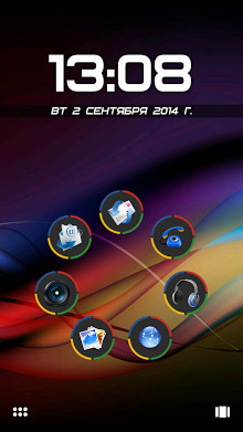 Chromium Theme for Smart Launcher Apk 1