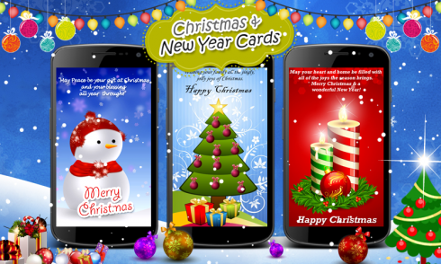 Christmas New Year Cards Android App APK By Noor Media Apps