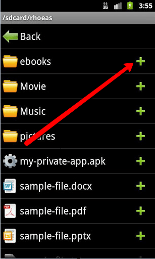 Hide Android's SD Card Folders, Files Quickly And Easily