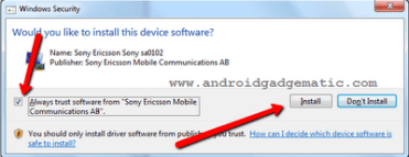 Install Firmware Update, Downgrade Sony Xperia Phone With