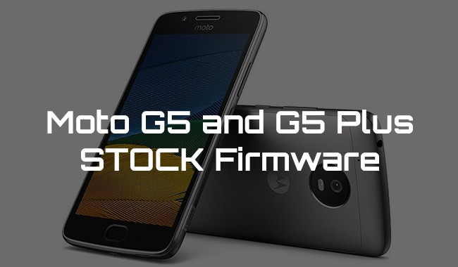Moto G5 Plus Stock Firmware Collection