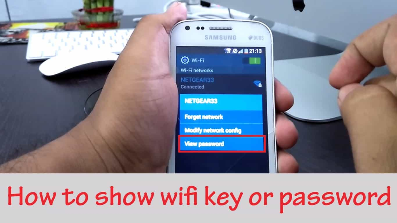 How to Show WiFi Password Android Phone Without ROOT