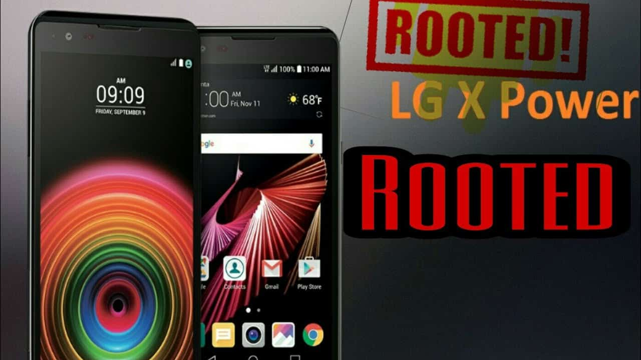 How to root LG X power