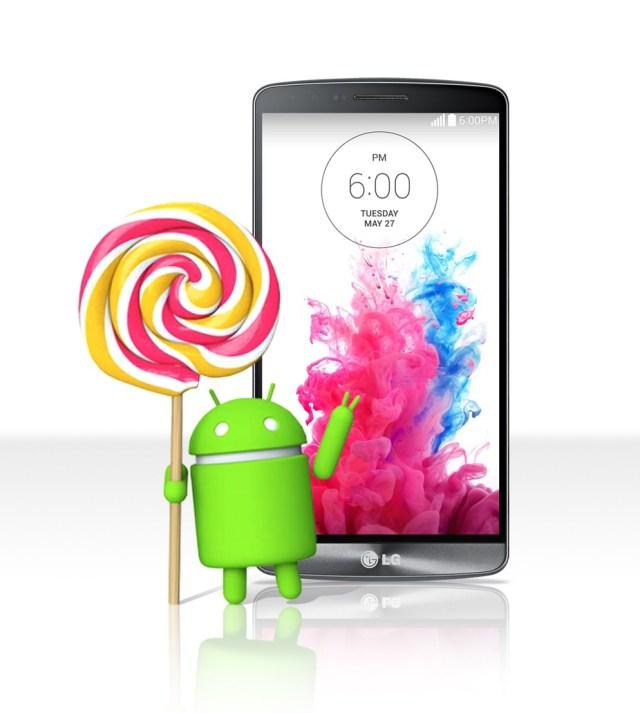G3 + Lollipop