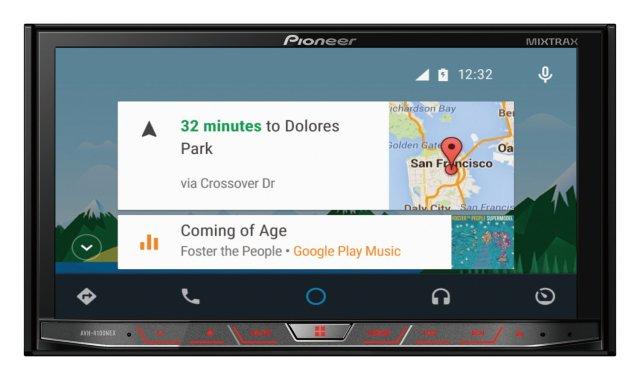 AVH-4100NEX Android Auto