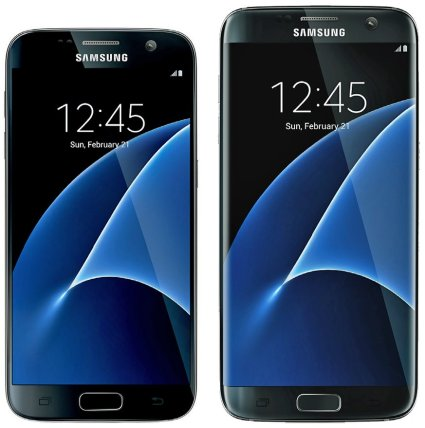 Galaxy S7 front view leak via @evleaks
