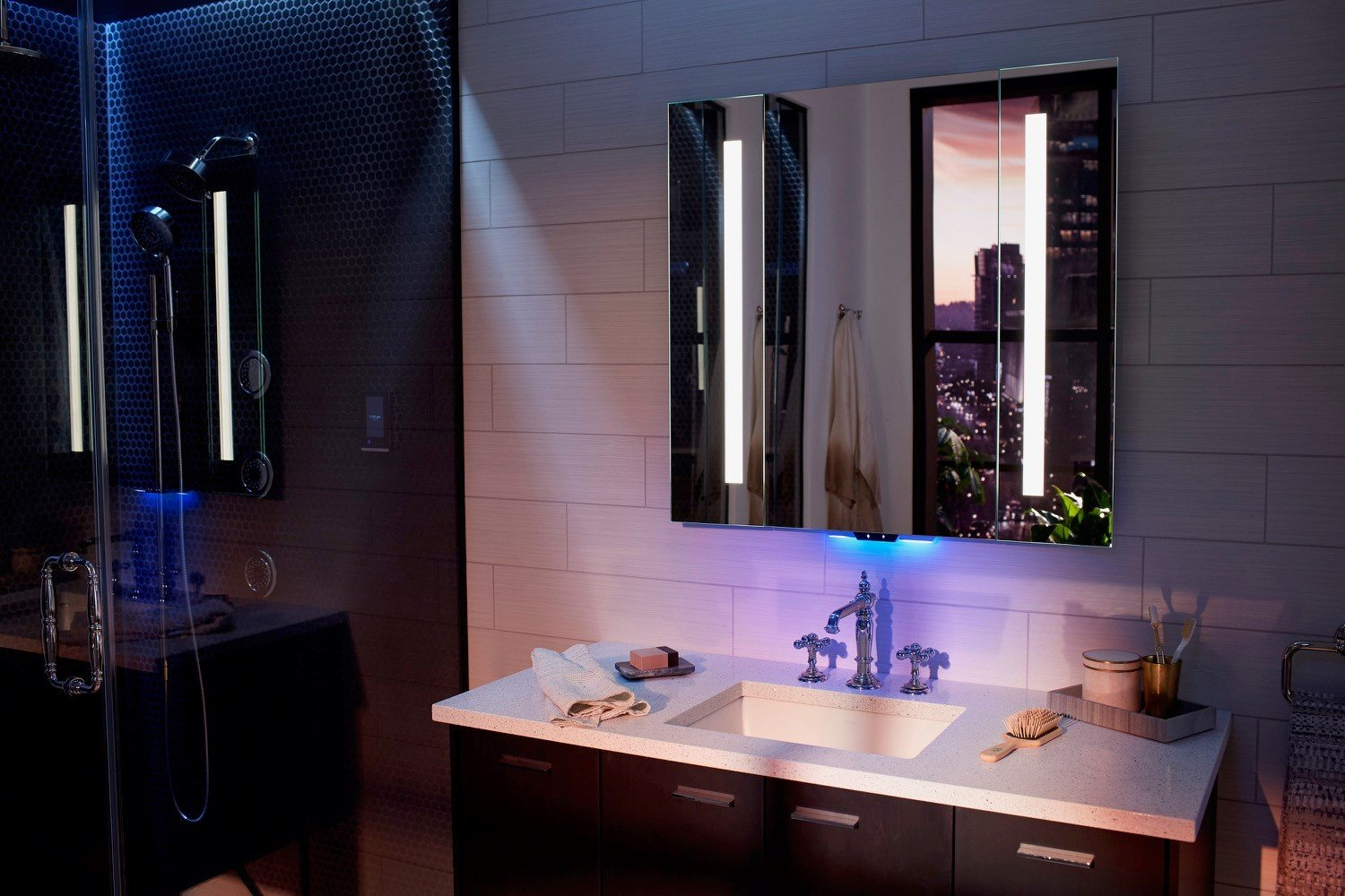 kitchen and bathroom a lot smarter