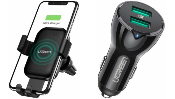 UGREEN wireless and wired car charger image 1