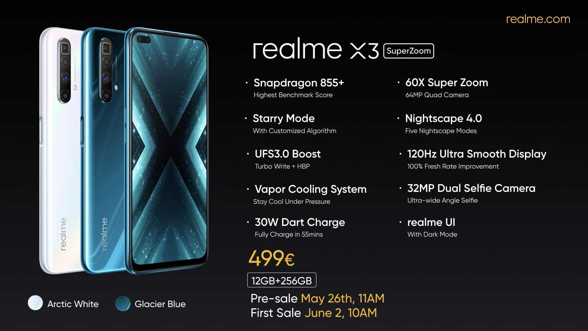 Realme X3 SuperZoom Is Official With 120Hz Display & Periscope Camera