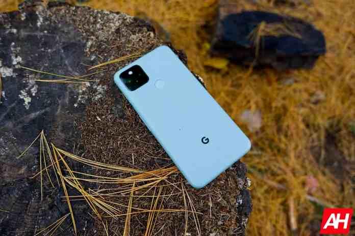 Google Pixel 5 Review AM AH 5