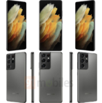 Leaked Galaxy S21 Ultra Phantom Titanium 91 2 cell phones