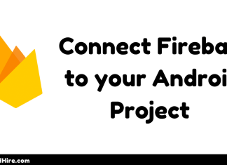connect firebase to your android project