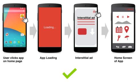 add interstitial ads