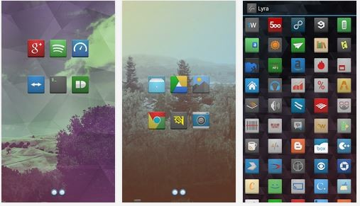 Lyra Icon Theme: ecco un nuovo ed interessante icon pack