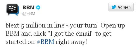 BlackBerry-Messenger-5-Miljoen-Gebruikers