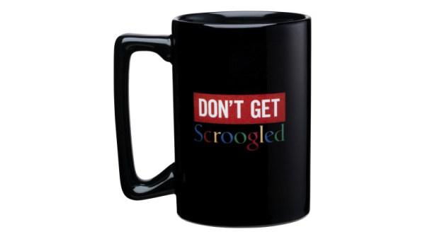 Microsoft Scroogled_Keep_Calm_Mug
