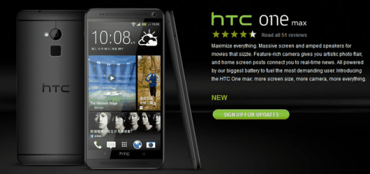 HTC One Max Black Zwart