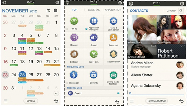 Tizen-Smartphone-Screenshots