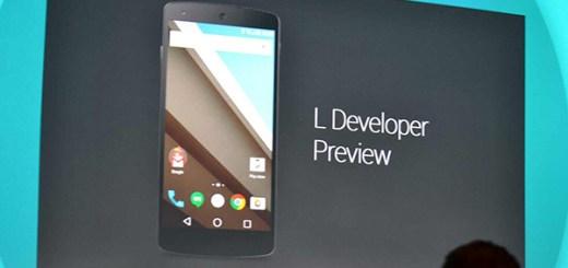 Android L testversie